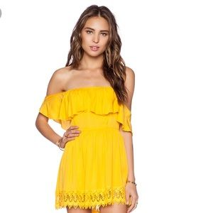 Lovers + Friends NWT Dream Vacay Dress El Dorado